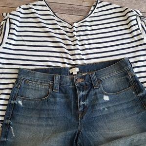 J. Crew denim shorts size 31